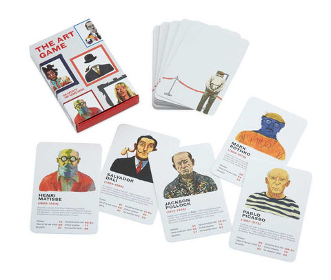 The Art Game Artists' Trump Cards