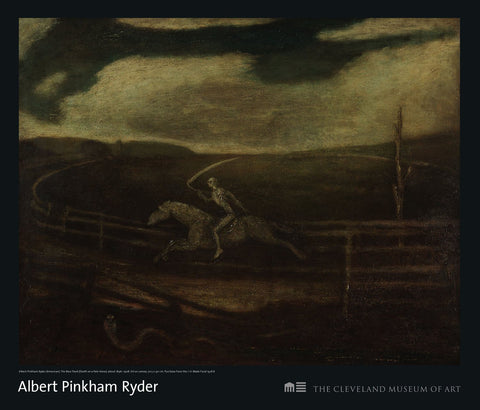 Death on a Pale Horse (The Race Track) Poster