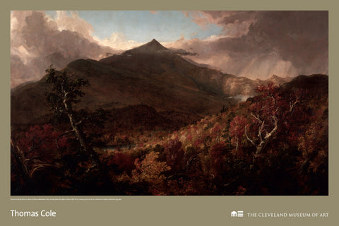 View of Schroon Mountain Poster