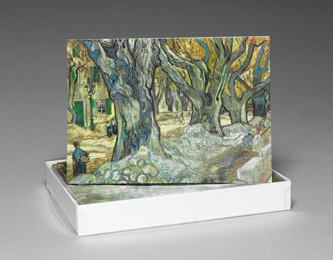 The Large Plane Trees Boxed Notecards