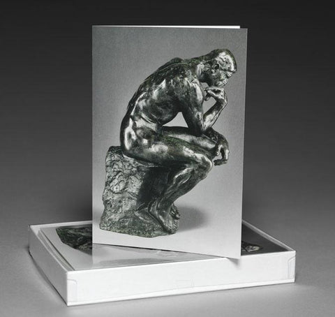 The Thinker Boxed Notecards