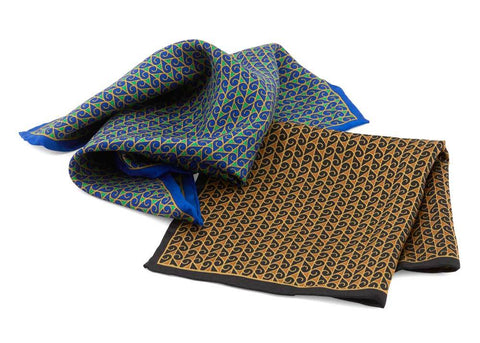Jazz Age Pocket Square