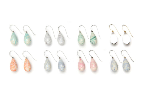 Raindrop Earrings Group | PONO by Joan Goodman