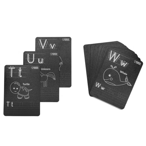 Chalkboard Alphabet Flash Cards