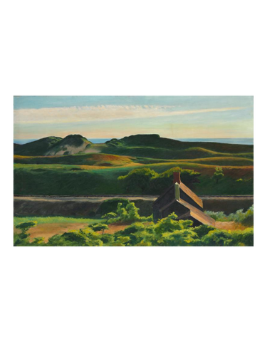 Hills, South Truro by Edward Hopper | Print