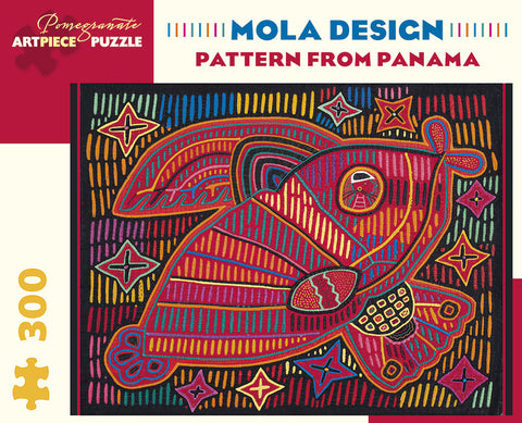 Mola Design: Pattern from Panama Puzzle
