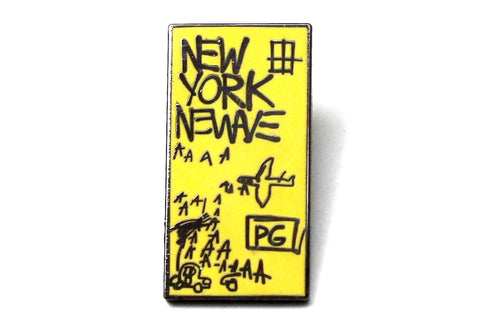 Jean-Michel Basquiat - New York New Wave Lapel Pin