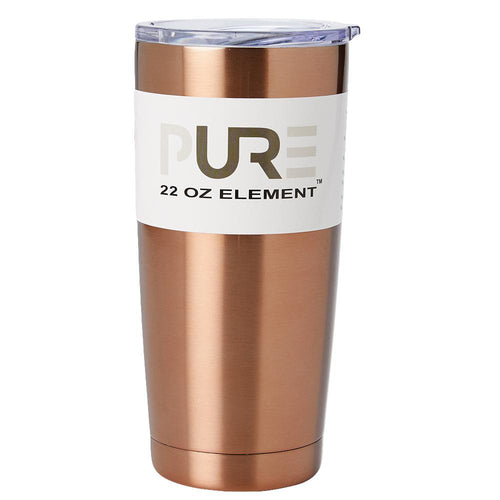 PURE Drinkware 22 oz Tumbler - Copper