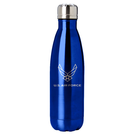 PURE Drinkware 17 oz Bottle - Coast Guard (Water Blue)