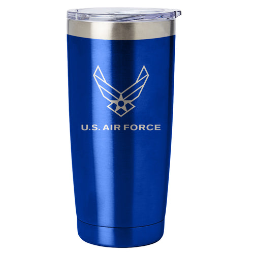 PURE Drinkware 20 oz Tumbler - Air Force (Blue) - PURE Drinkware