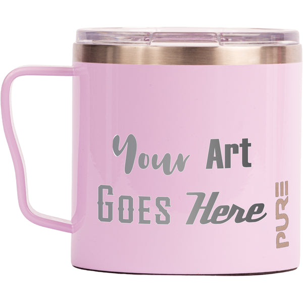 16 oz Coffee Mug - Lilac - Custom Engraved