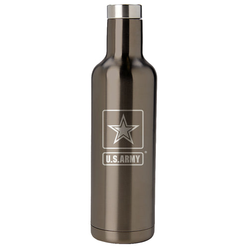PURE Drinkware 25 oz Bottle - Army (Gunmetal) - PURE Drinkware