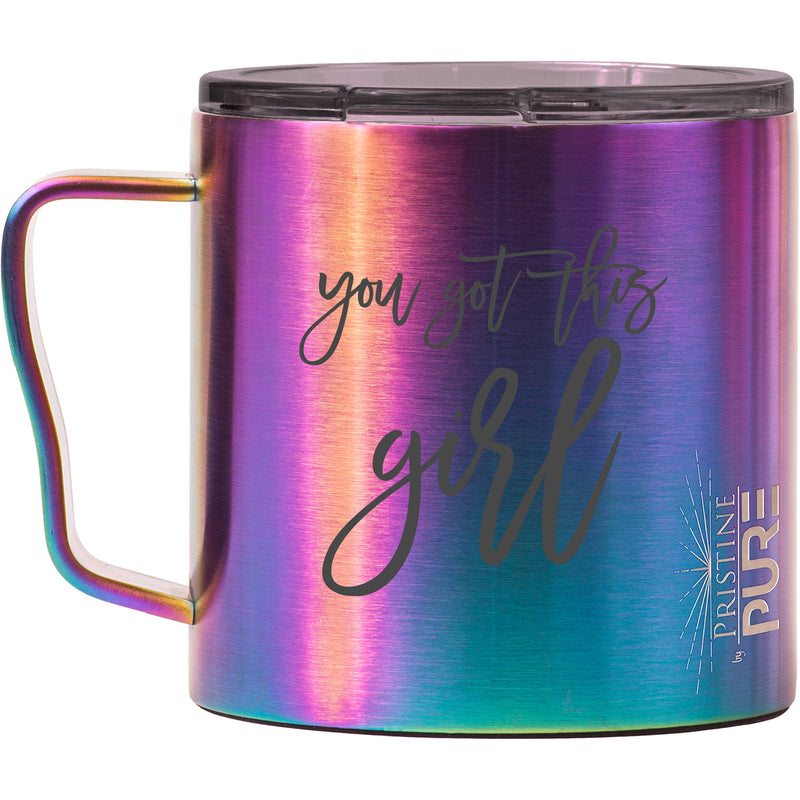 """Big Gertha"" 16oz Antimicrobial Thermal Mug - You Got This Girl"