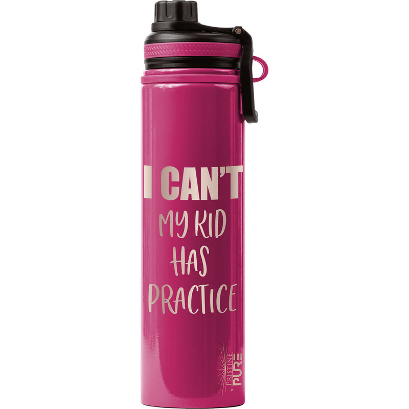 """Endurance"" 25oz Antimicrobial Water Bottle - I can't. My kid has practice."
