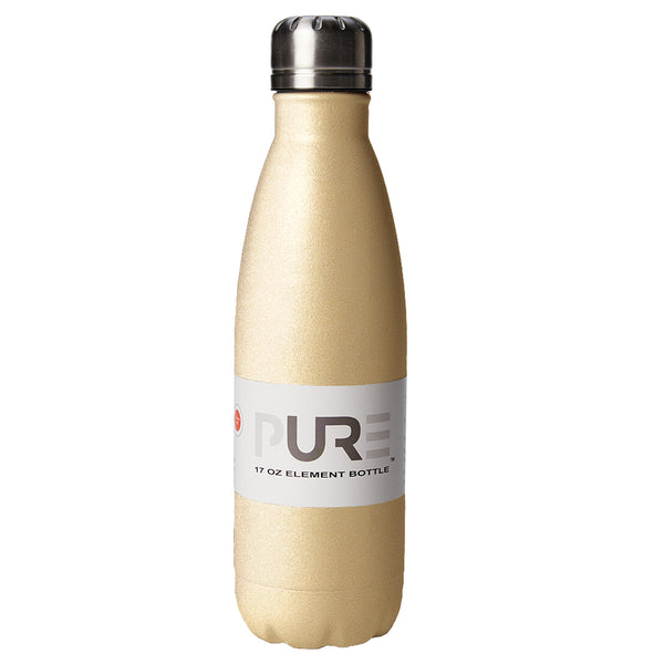 PURE Drinkware 17 oz Bottle - Gold - PURE Drinkware