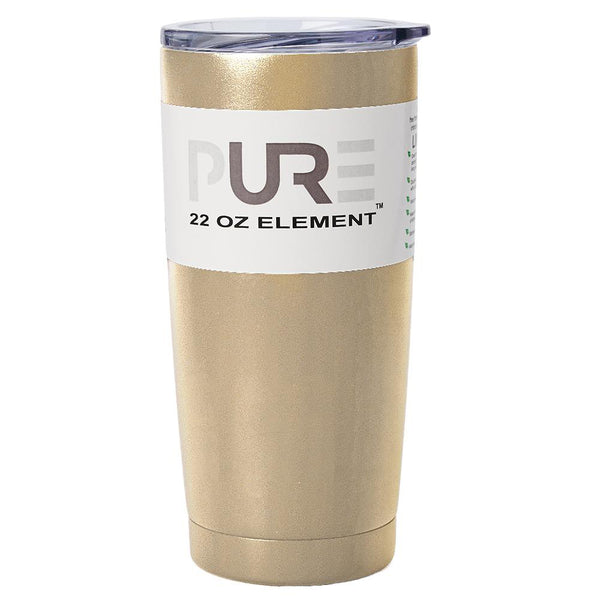 PURE Drinkware 22 oz Tumbler - Gold