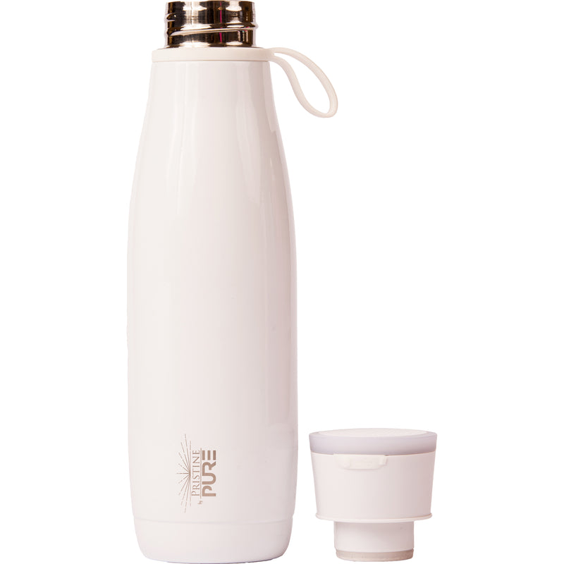 15 oz PURE Waves Bottle - White
