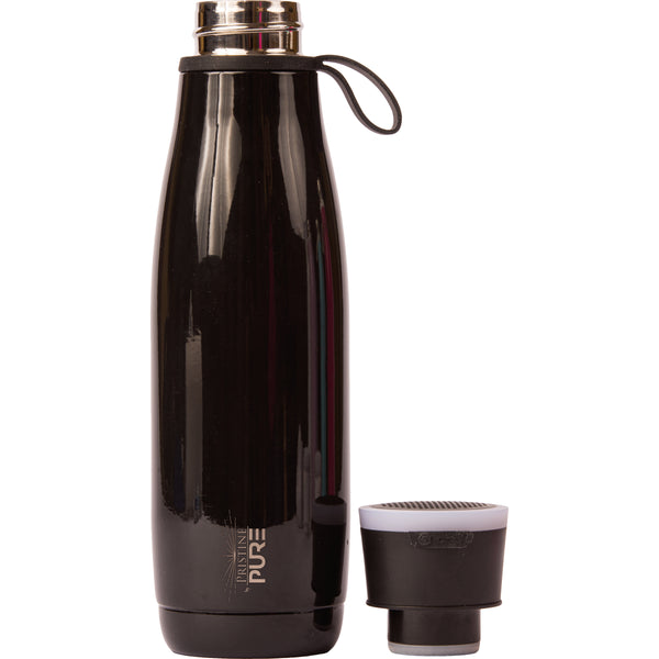 15 oz PURE Waves Bottle - Black