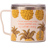 "16 oz Coffee Mug - ""I tried starting a day without coffee once... My court date is pending"""