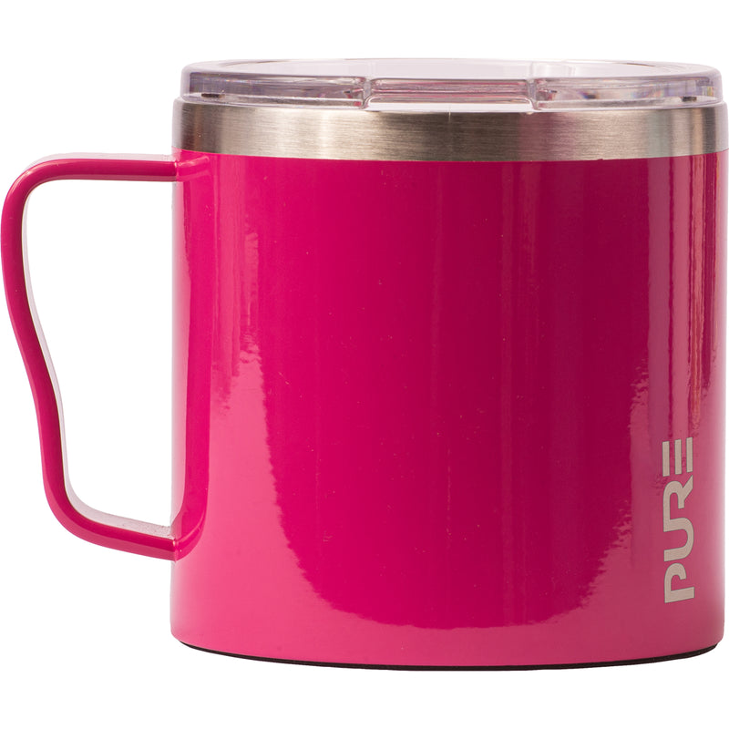 16 oz Coffee Mug - Raspberry