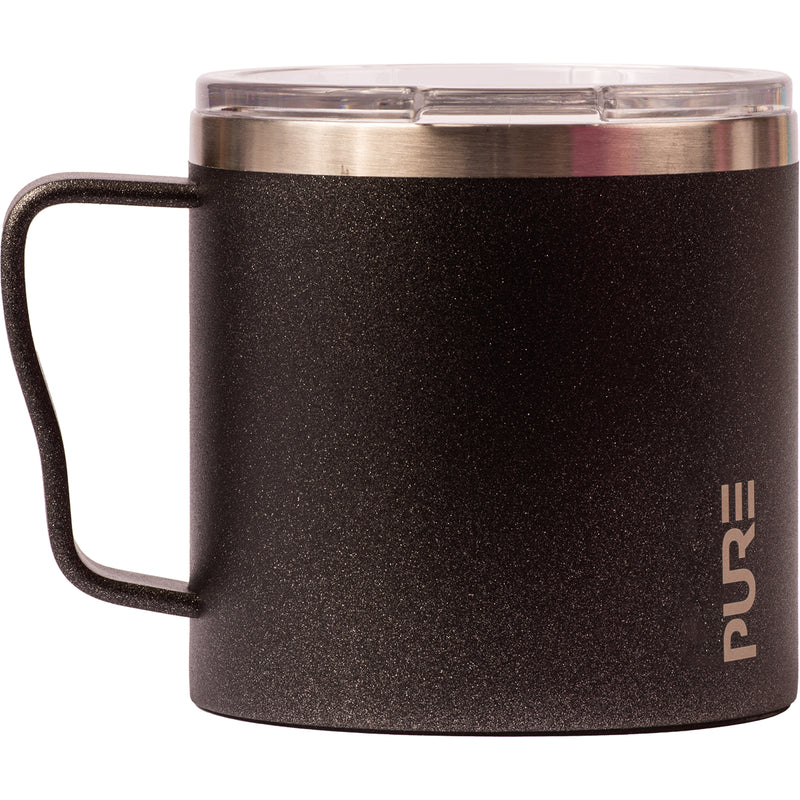 16 oz Coffee Mug - Gunmetal Flake