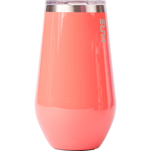 16 oz Stemless Wine Cup - Camelia
