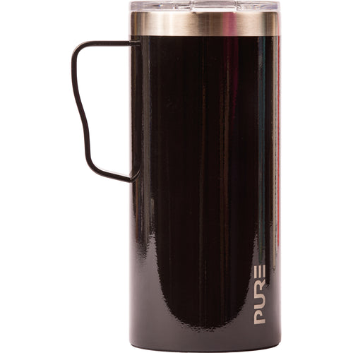 18 oz Coffee Mug - Black