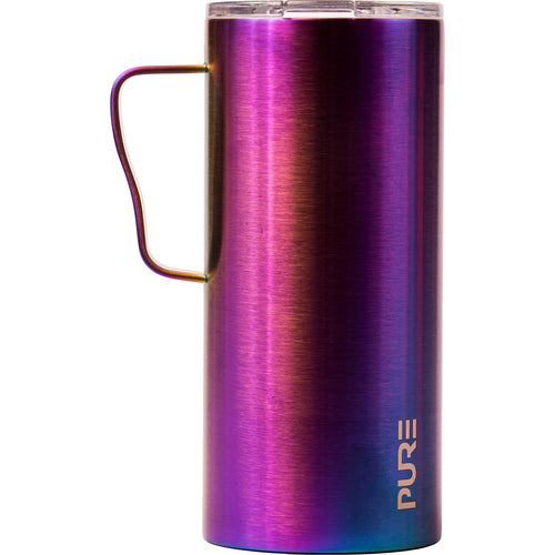 18 oz Coffee Mug - Blue Metallic