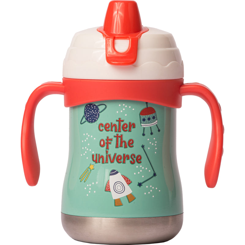 "9 oz Sippy Cup - ""Center of the Universe"""