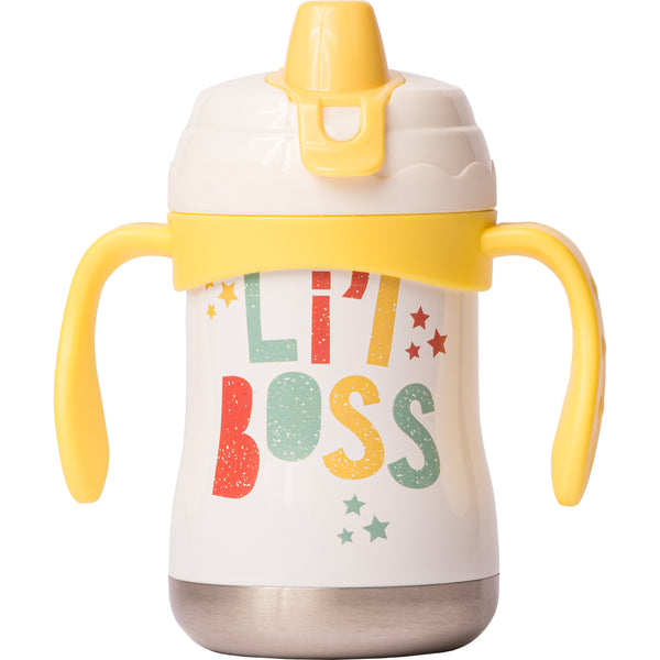 "9 oz Sippy Cup - ""Li'l Boss"""