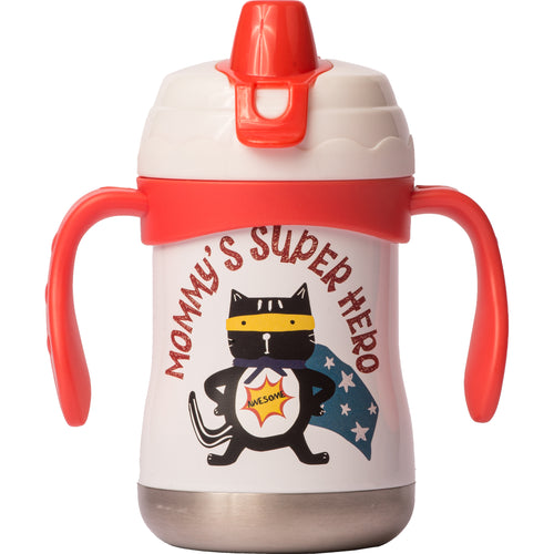 "9 oz Sippy Cup - ""Mommy's Superhero"""