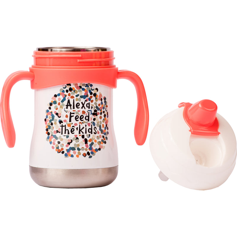 "9 oz Sippy Cup - ""Alexa, Feed the Kids"""