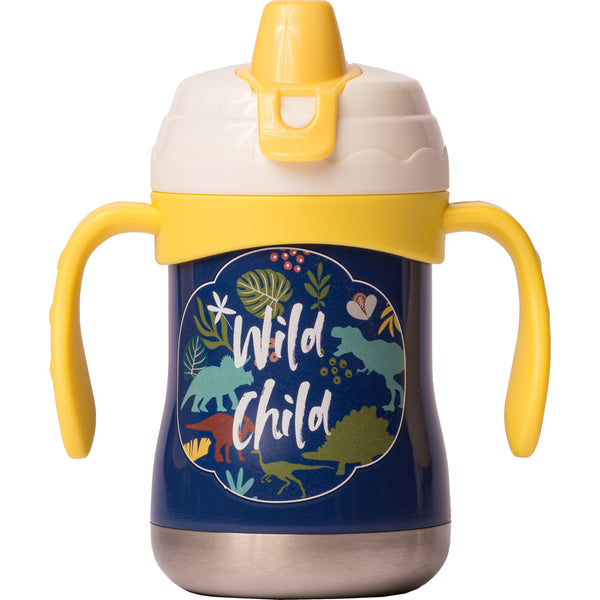 "9 oz Sippy Cup - ""Wild Child"" (Dinosaurs)"