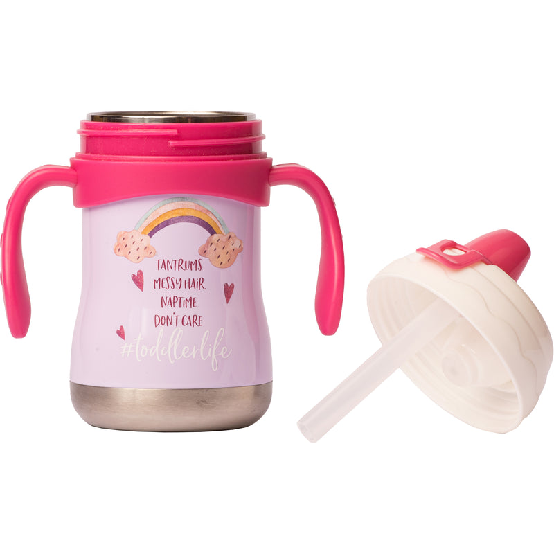 "9 oz Sippy Cup - ""#toddlerlife"""