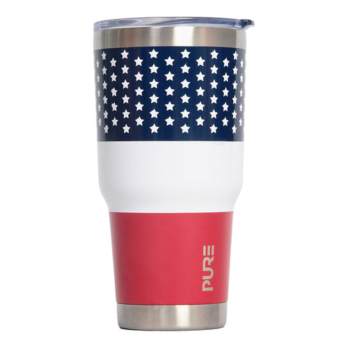 PURE Drinkware 30 oz Tumbler - US Flag