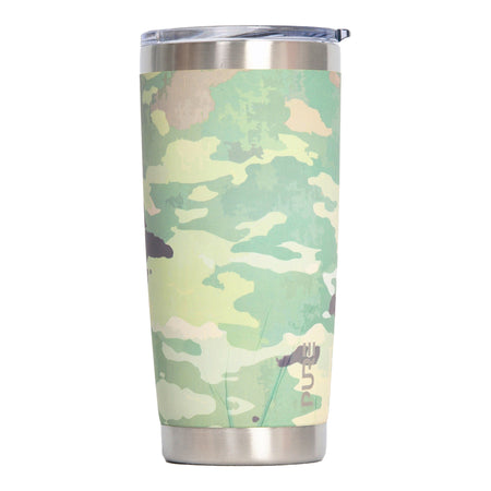 PURE Drinkware 22 oz Tumbler - Air Force Wife (Pink Camo)