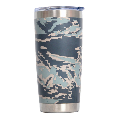 PURE Drinkware 20 oz Tumbler - Air Force Camo - PURE Drinkware
