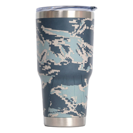 "PURE Drinkware 30 oz Tumbler - Army ""Home is wherever you are"""