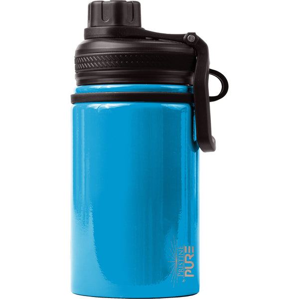 """Endurance"" Kid's 14oz Antimicrobial Water Bottle - Electric"
