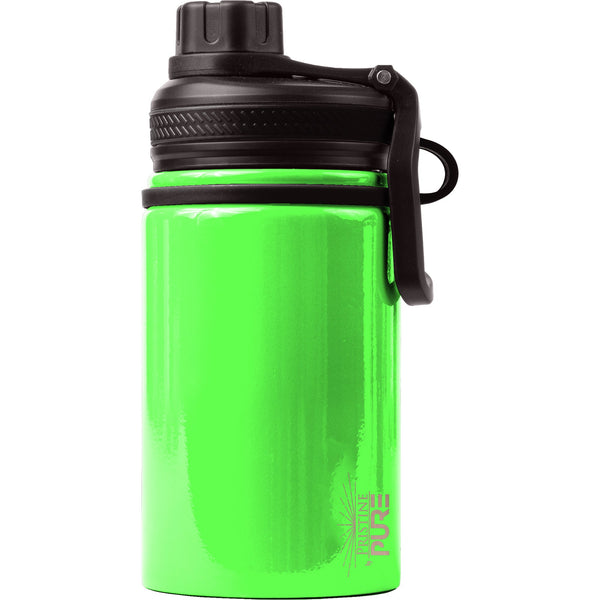 """Endurance"" Kid's 14oz Antimicrobial Water Bottle - Gecko"