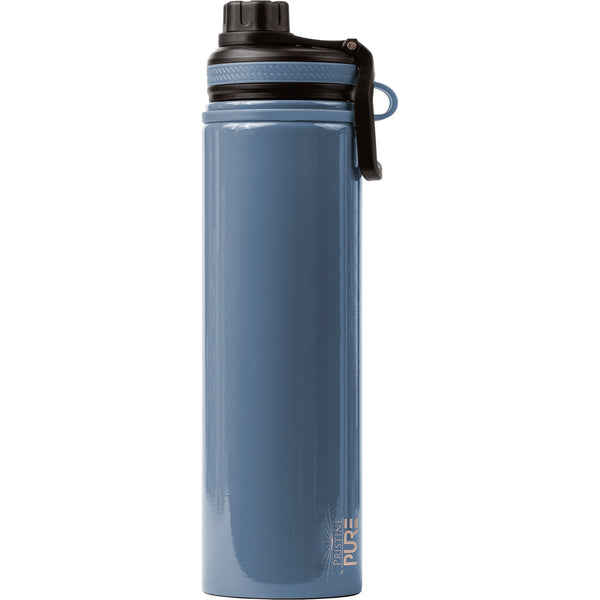 """Endurance"" 48oz Anitmicrobial Water Bottle - Denim"