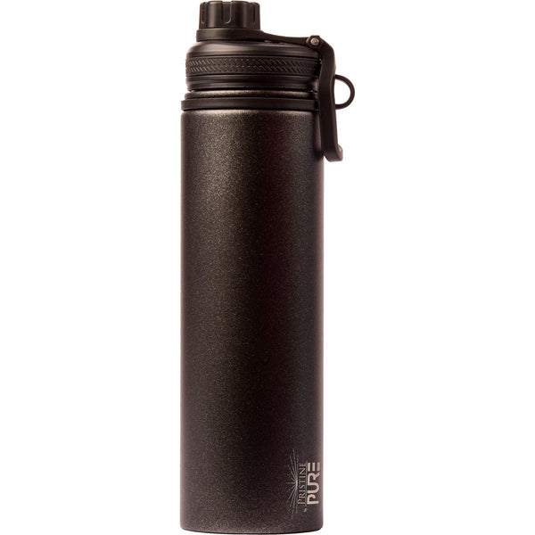 """Endurance"" 48oz Anitmicrobial Water Bottle - Midnight"