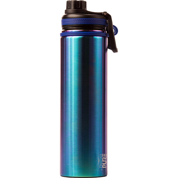 """Endurance"" 48oz Anitmicrobial Water Bottle - Purple Haze"