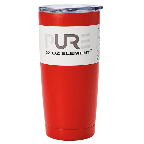 PURE Drinkware 22 oz Tumbler - Red