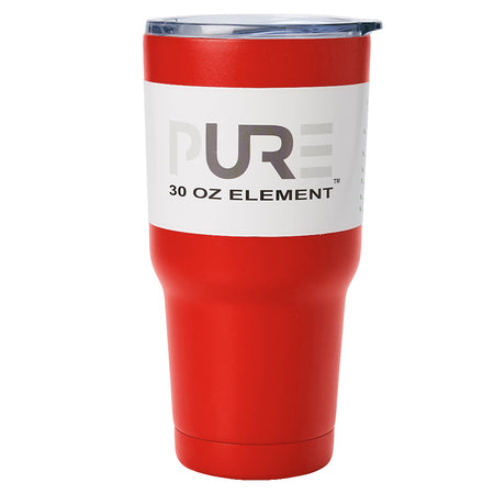 PURE Drinkware 30 oz Tumbler - Army (Gunmetal)