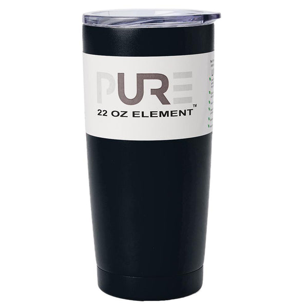 PURE Drinkware 22 oz Tumbler - Black