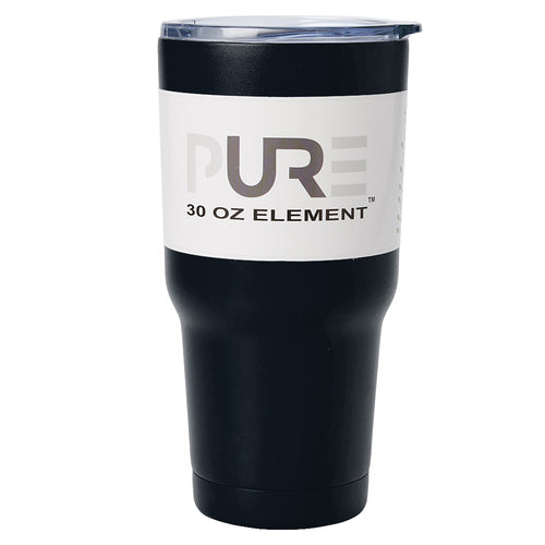 PURE Drinkware 30 oz Tumbler - Black - PURE Drinkware