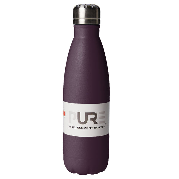 PURE Drinkware 17 oz Bottle - Aubergine - PURE Drinkware
