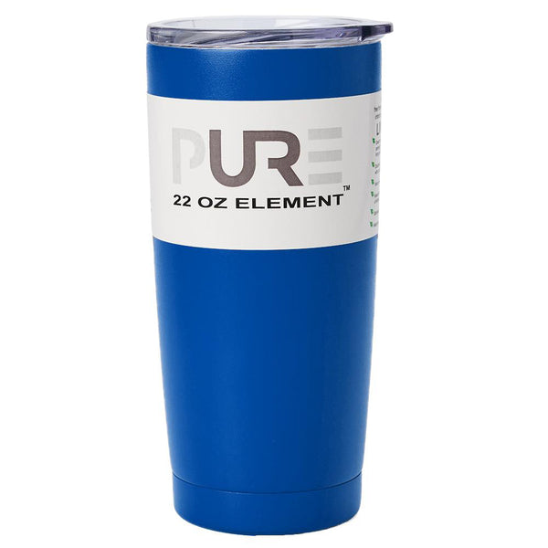 PURE Drinkware 22 oz Tumbler - Royal Blue