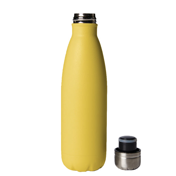 PURE Drinkware 17 oz Bottle - Yellow - PURE Drinkware